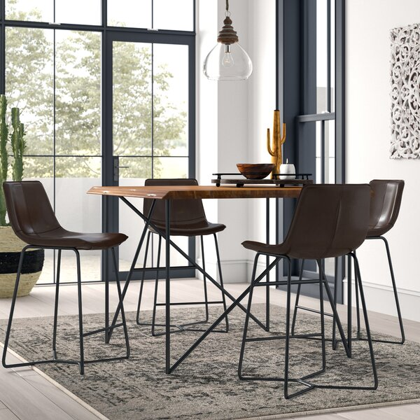Winschoten 5 Piece Pub Table Set by Mistana Mistana