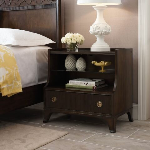 Bordeaux 1 Drawer Nightstand by Canora Grey