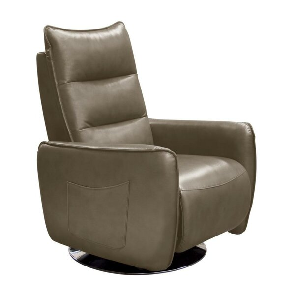 Weccacoe Faux Leather Manual Swivel Recliner W001516922