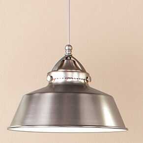 Wyandotte 1-Light Inverted Pendant by WAC Lighting