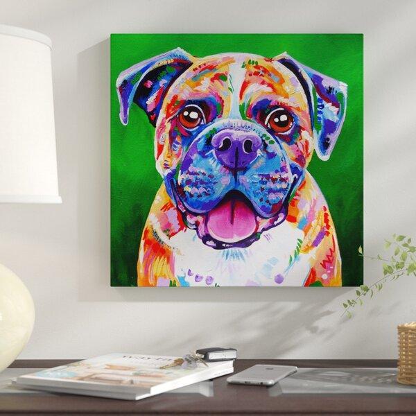 Boxer Dog Prints On Canvas | Wayfair