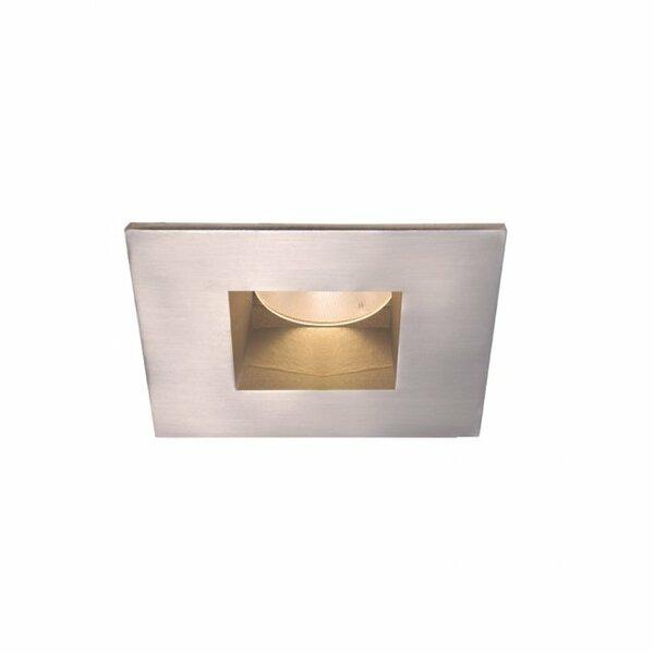 Tesla LED 2 Square Recessed Trim by WAC Lighting