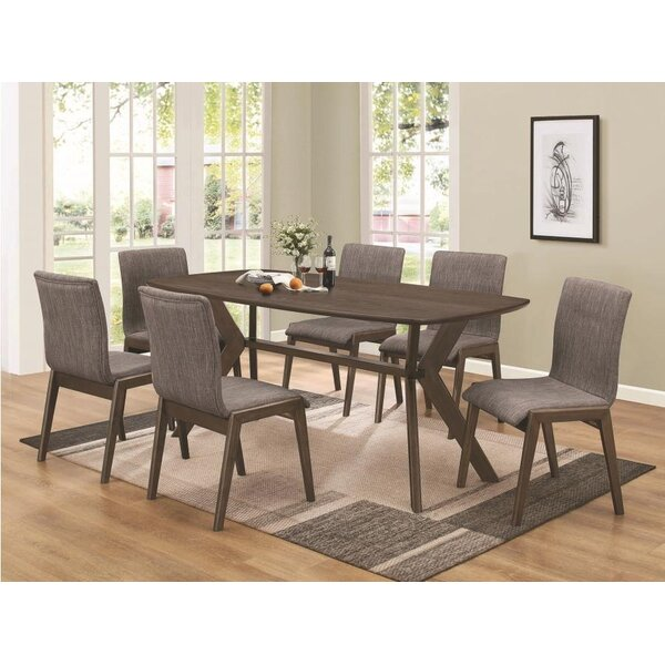 Earnhardt 7 Piece Dining Set by Corrigan Studio