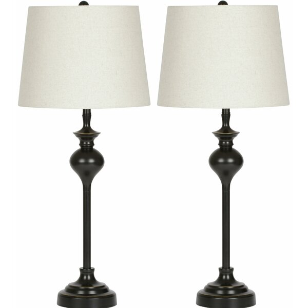 Hudson 27.75 Table Lamp (Set of 2) by Virtue Home