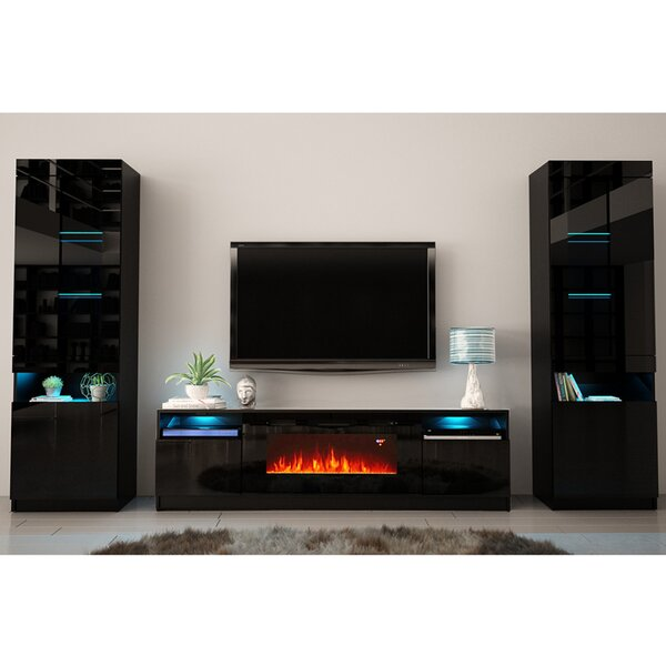 Delaine Entertainment Center For TVs Up To 88