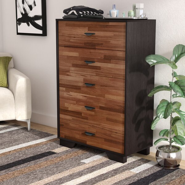 Bair 5 Drawer Chest by Wade Logan