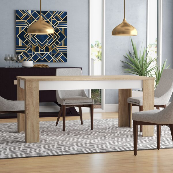 Algedi Dining Table by Mercury Row