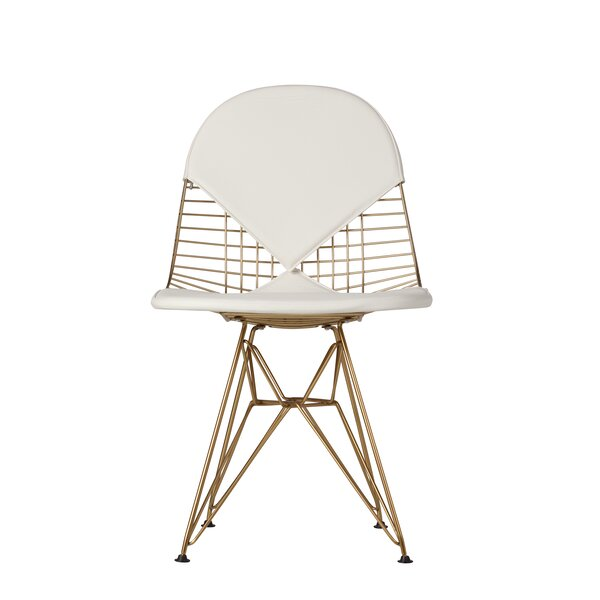 High Littleton Gold Side Dining Chair by Brayden Studio