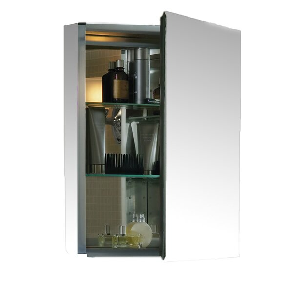 20 x 26 Aluminum Medicine Cabinet with Mirrored Do
