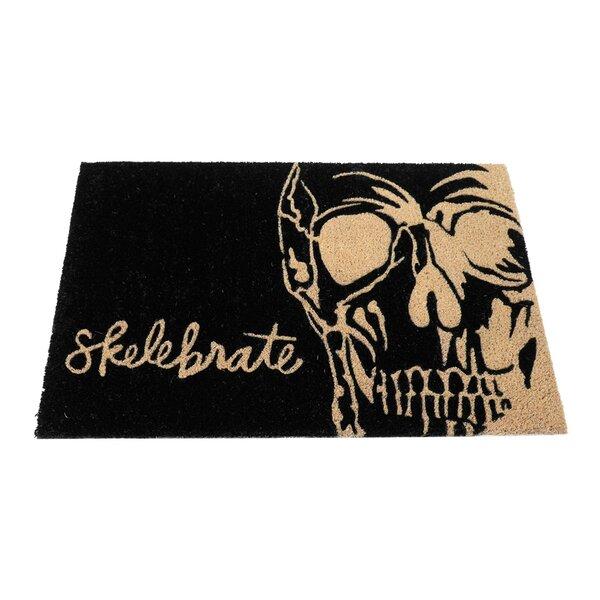 Mcchesney Skelebrate Doormat by Floor 9