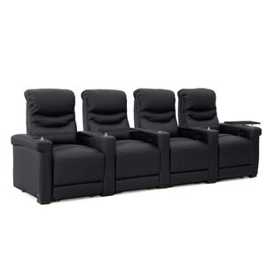 Leather Home Theater Configurable Seating
