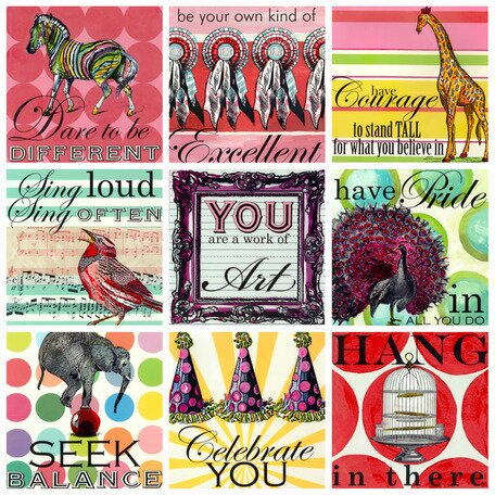 Sweet Sayings Canvas Art by Oopsy Daisy