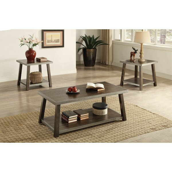 Benda 3 Piece Coffee Table Set by Foundry Select