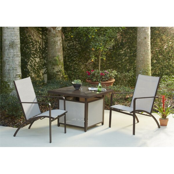 Crawford 3 Piece Conversation Set by Andover Mills
