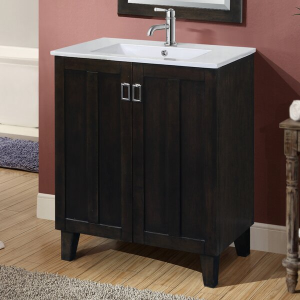 Larabee 30 Single Sink Bathroom Vanity Set by Latitude Run