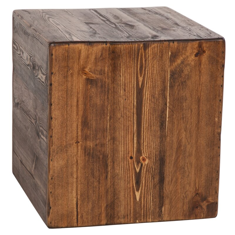 Berowalt Cube End Table