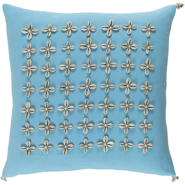 Cherwell Square Cotton Throw Pillow by Highland Dunes