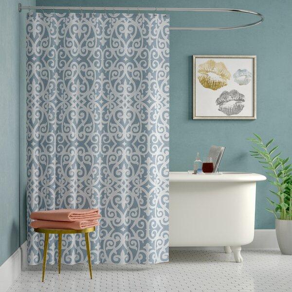 Defino Cotton Shower Curtain by Willa Arlo Interiors