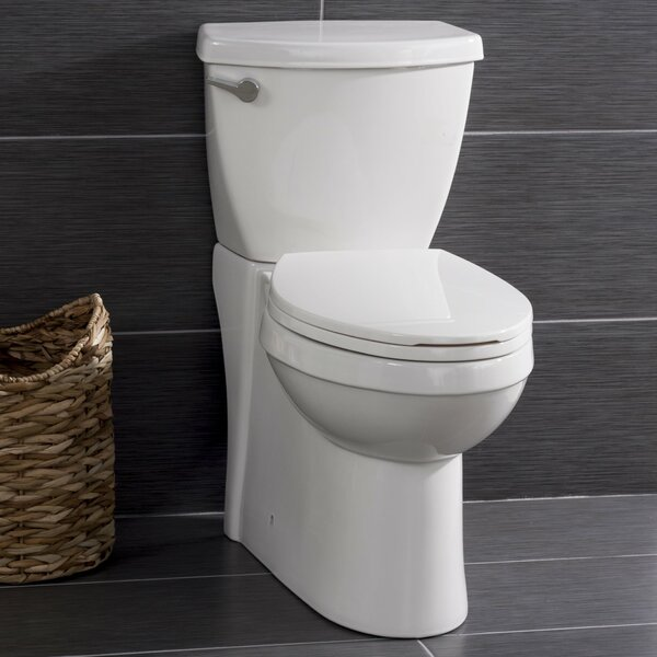 High Efficiency Leisure Height 1.28 GPF Elongated Two-Piece Toilet by Miseno