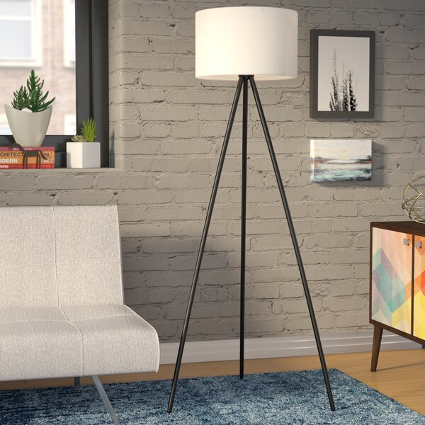 61 Tripod Floor Lamp by Wrought Studio