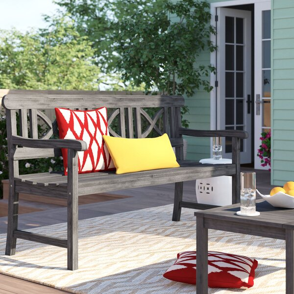 Manchester Wooden Garden Bench by Sol 72 Outdoor