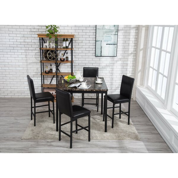 Andreana 5 Piece Dining Set by Red Barrel Studio