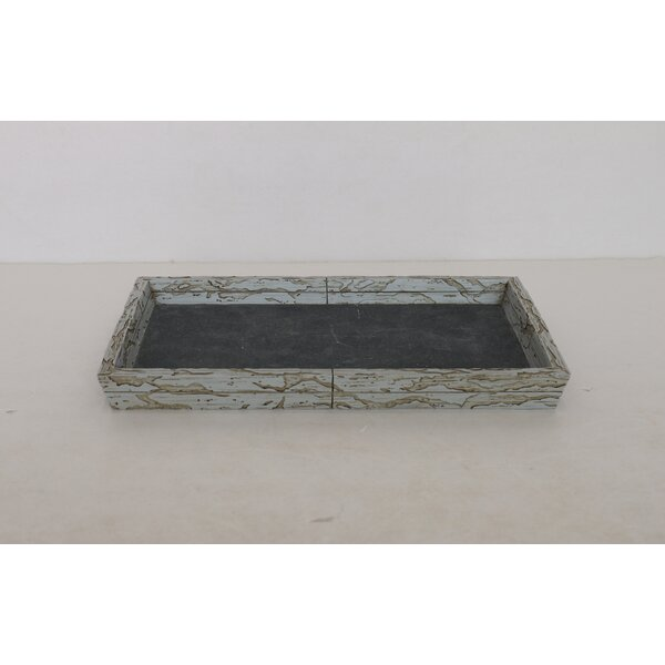 Loeffler Rustic Stone Antique Amenity Tray by Union Rustic