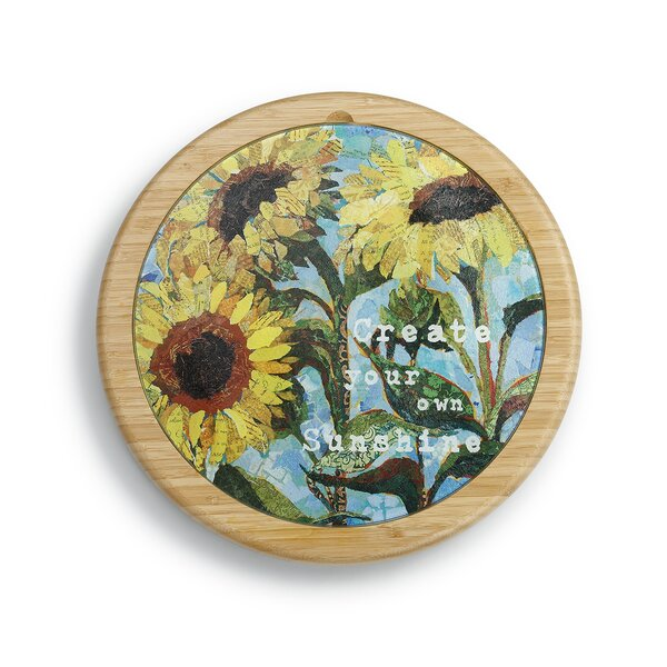 Parcell Daisy Lazy Susan by August Grove