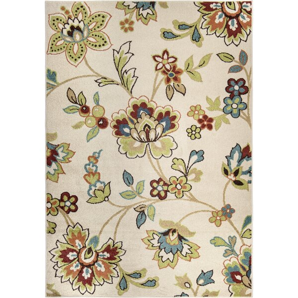 Abadie Beige Indoor/Outdoor Area Rug by Winston Porter