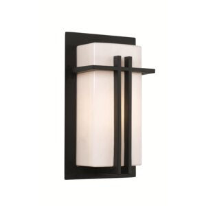 Heim 1-Light Outdoor Flush Mount