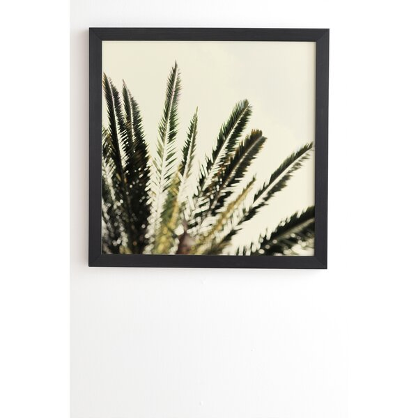 The Palms No 2 by Chelsea Victoria Framed Photographic Print by East Urban Home