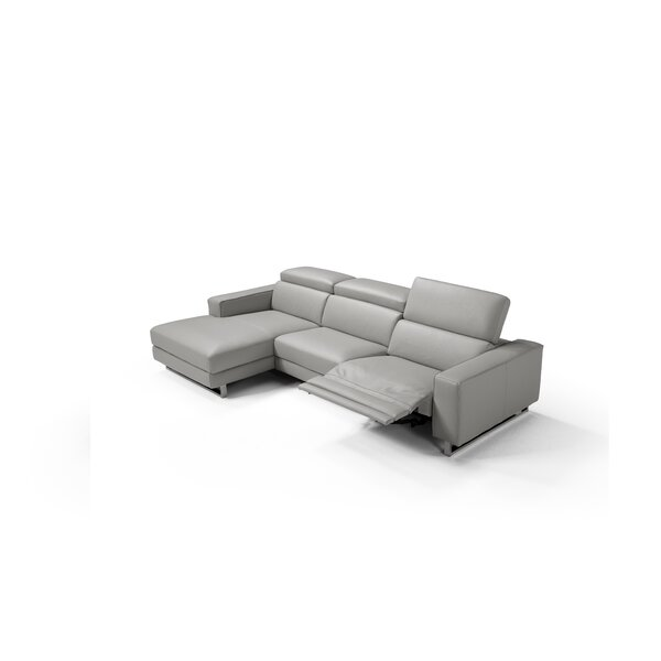 Review Sania Leather Sectional