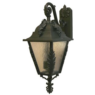 Coupon Petrey 3-Light Outdoor Wall Lantern By Alcott Hill