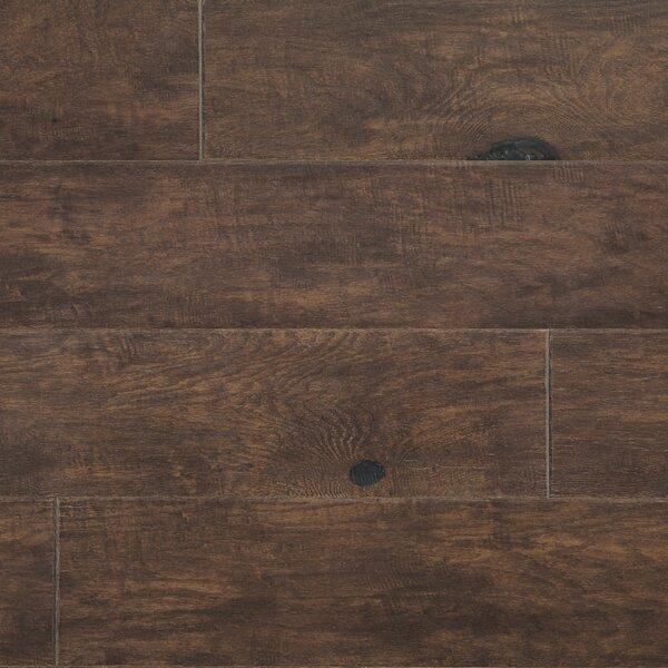 Rock Creek Plank 6-1/3 Engineered Oak Hardwood Flooring in Bear by Mannington