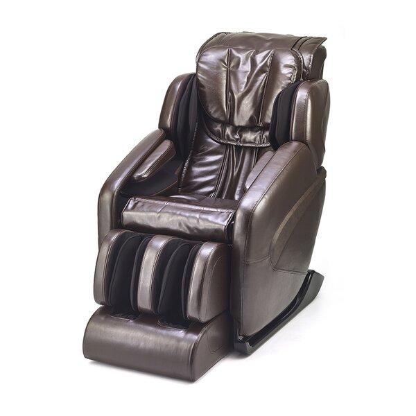Inner Balance Wellness Reclining Adjustable Width Massage Chair With Ottoman By Inner Balance Wellness