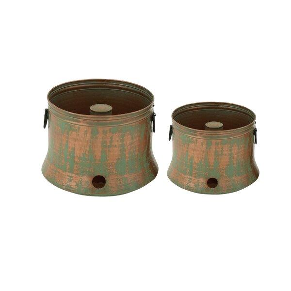 Iron Hose Pot by Cole & Grey