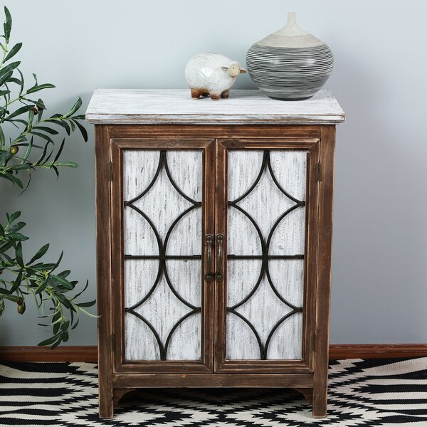 Seaver Decorative Wood 2 Door Accent Cabinet by World Menagerie