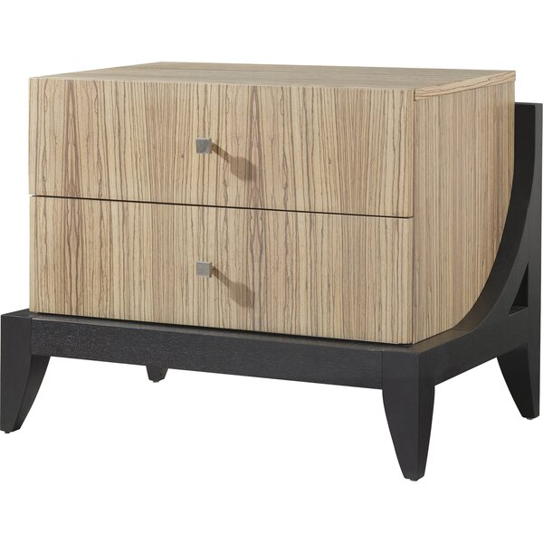Bonita 2 Drawer Nightstand by Allan Copley Designs