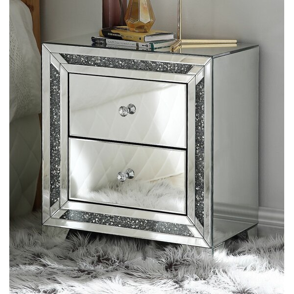 Deasia 2 Drawer Nightstand By Rosdorf Park