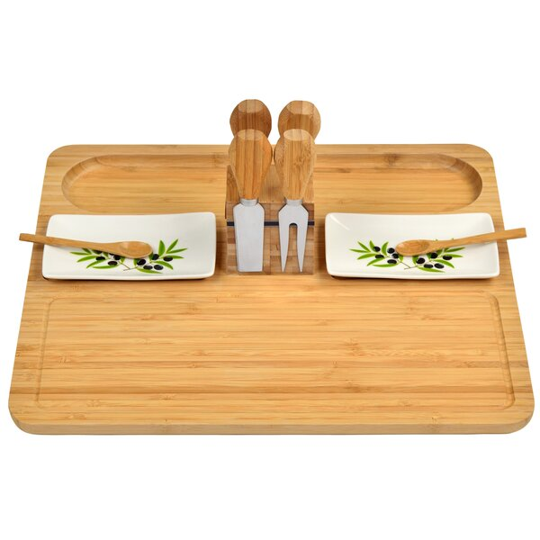 Sherborne 9 Piece Cheese Board and Platter Set by Picnic at Ascot