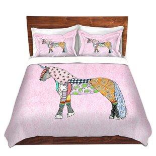 grangeoversands marley ungaro unicorn pastel pink microfiber duvet covers - Unicorn Bedding