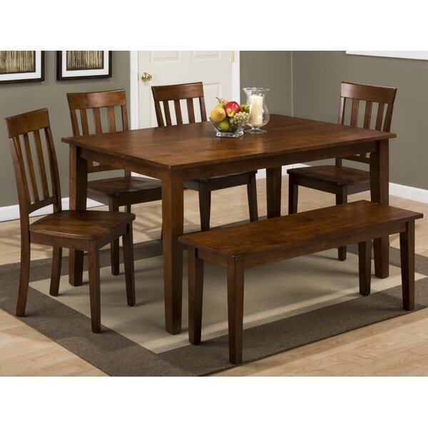 Antrim 6 Piece Dining Set by Alcott Hill