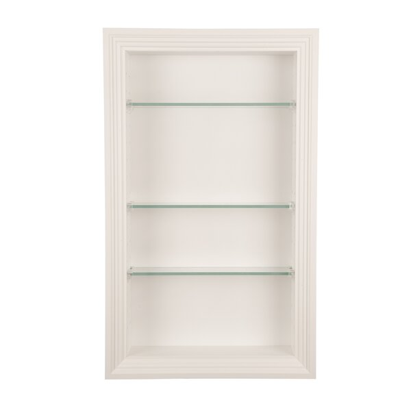Newberry 14 W x 24 H Recessed Shelving by WG Wood