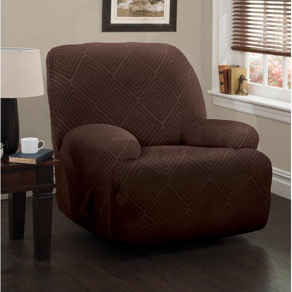Diamond Box Cushion Recliner Slipcover by Symple Stuff