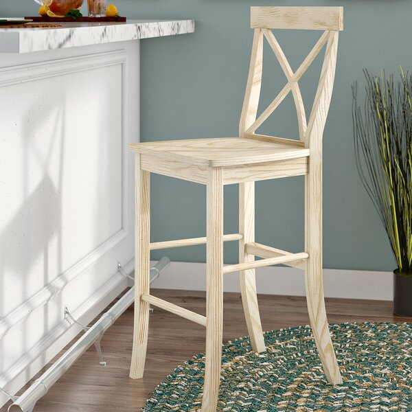 Wembley 29 Bar Stool by Beachcrest Home