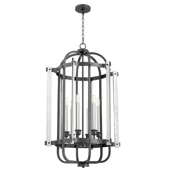 Swifton 6 - Light Candle Style Geometric Pendant By 17 Stories