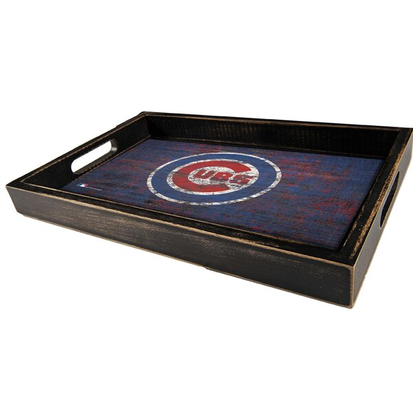 MLB Distressed Accent Tray by Fan Creations