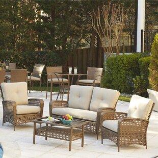 Indoor Wicker Furniture Sets | Wayfair