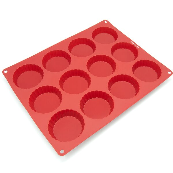 12 Cavity Silicone Mold Pan by Freshware