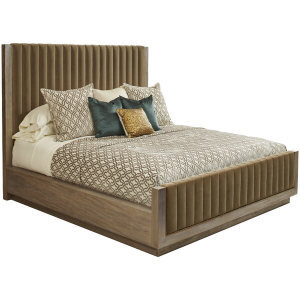 Sherpa Upholstered Platform Bed by Wrought Studio
